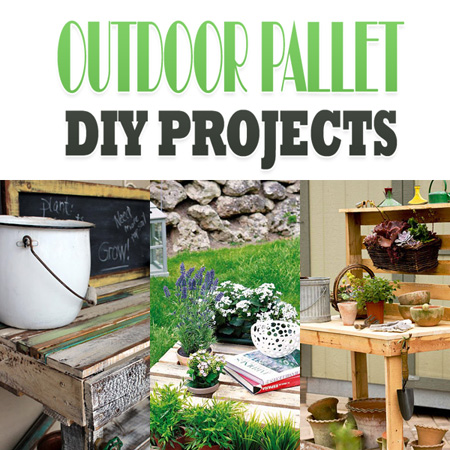 Outdoor Pallet DIY Projects