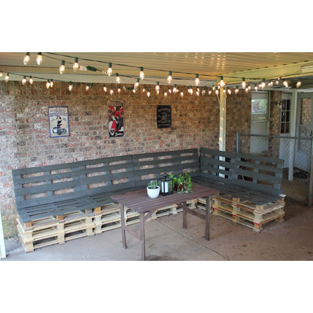 Outdoor Patio Furniture From Pallets