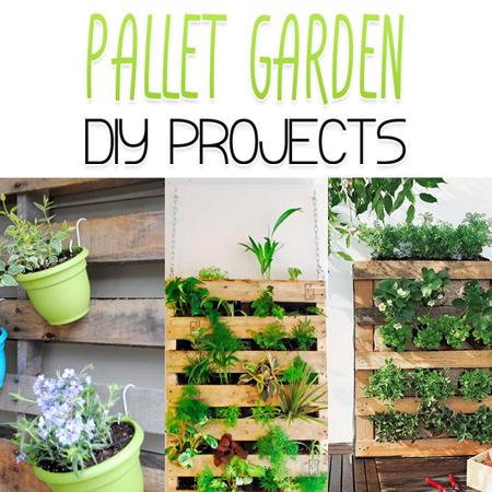 Pallet Garden DIY Projects The Cottage Market