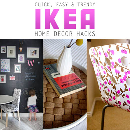 Quick Easy And Trendy Home Decor Ikea Hacks The Cottage