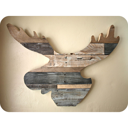 Reclaimed Wood Home Decor DIY Projects - The Cottage Market