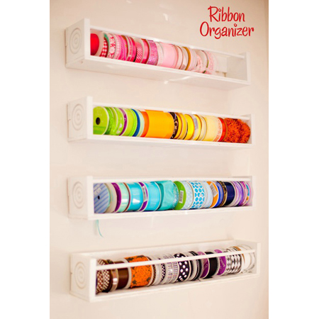Ribbon Organizer Diy Projects The Cottage Market