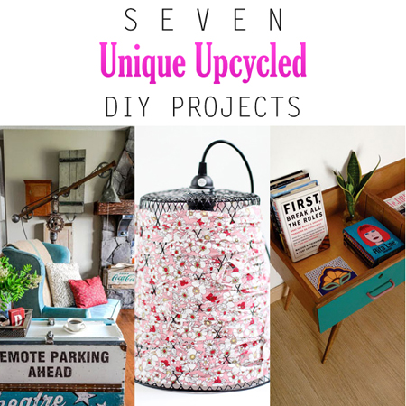 Seven unique upcycled diy projects the cottage market for Diy upcycle