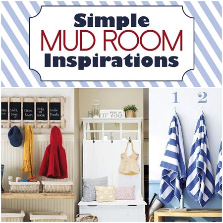 Simple Mud Room Inspirations