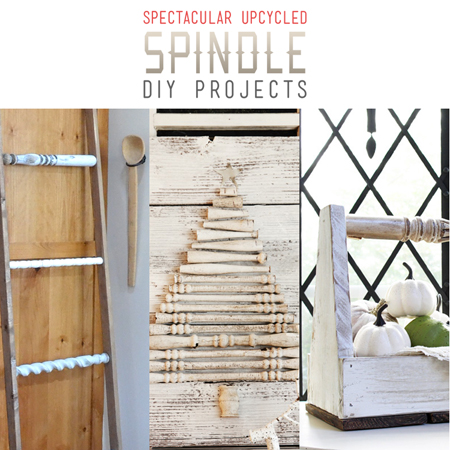 Spectacular Upcycled Spindle DIY Projects