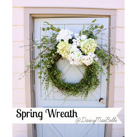 Spring Wreath DIY Project 1