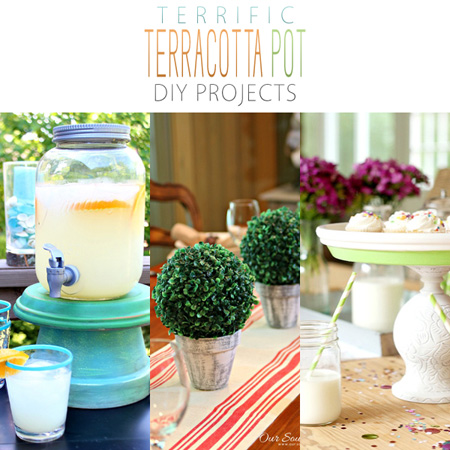 Terrific Terracotta Pot DIY Projects