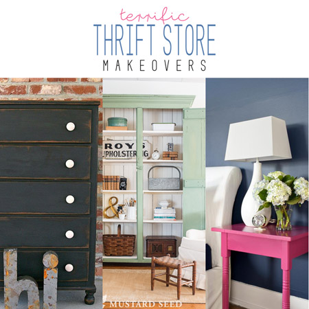 Terrific Thrift Store Makeovers