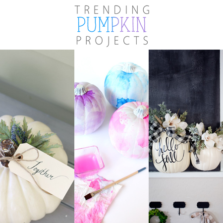 Trending Pumpkin Projects