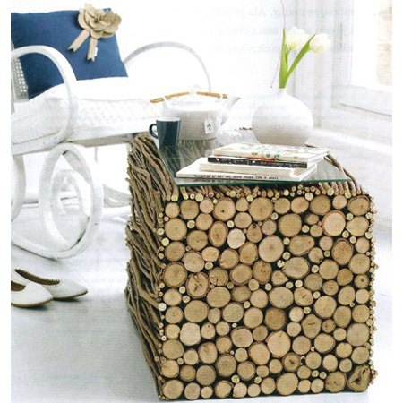 Twigs branches and log home decor diy projects the for Diy twig decor