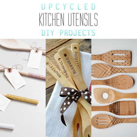 Upcycled Kitchen Utensil DIY Projects {Perfect Gifts} - The ...
