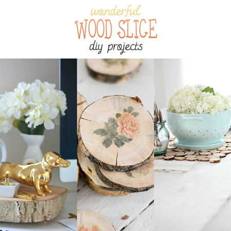 Wonderful Wood Slice DIY Projects