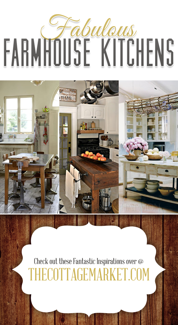 Amazing Farmhouse Kitchens