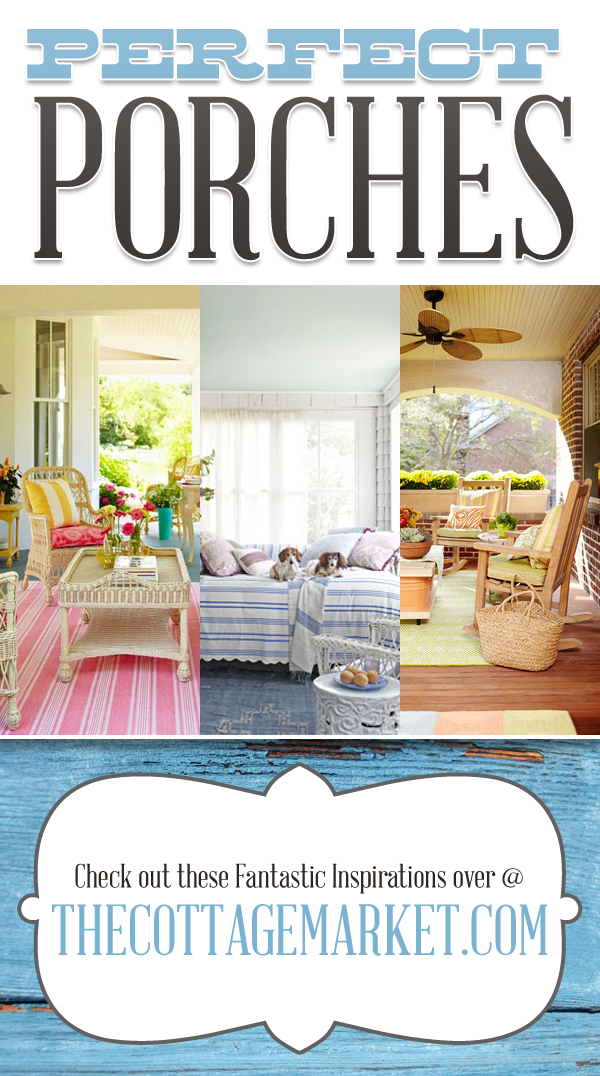 30 Perfect Porches - A Collection of Stunning Porch Decor