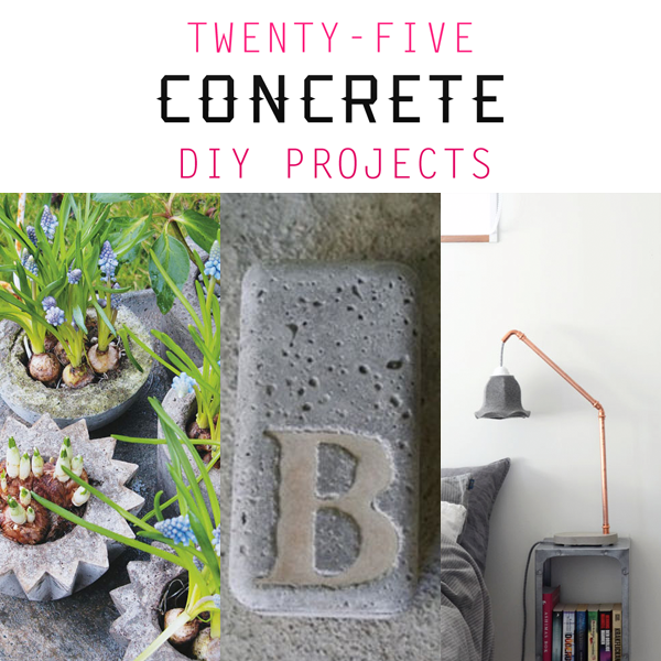 Concrete-feature