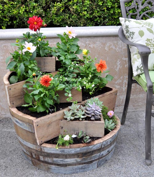 Repurposed Garden Containers and Tons of Great ideas for your plants ...