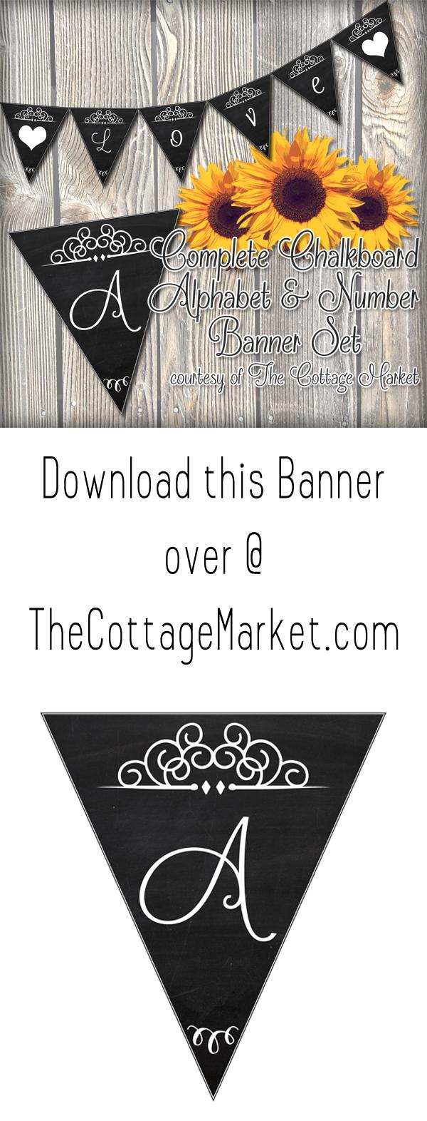 TheCottageMarket-ChalkboardBanner-Tower