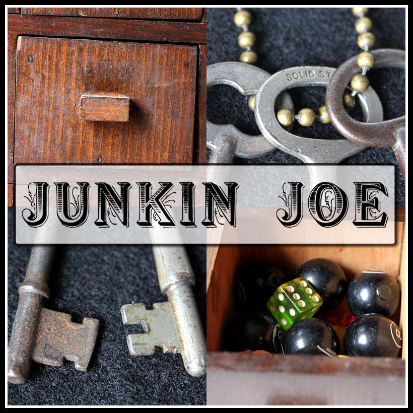 Junkin Joe Vintage and Thrifty Finds, Features and Linky Party ALL WELCOME