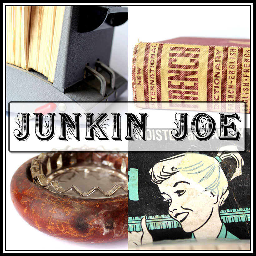 Junkin Joe Vintage and Thrifty Finds, Features and Linky Party EVERYONE is WELCOME