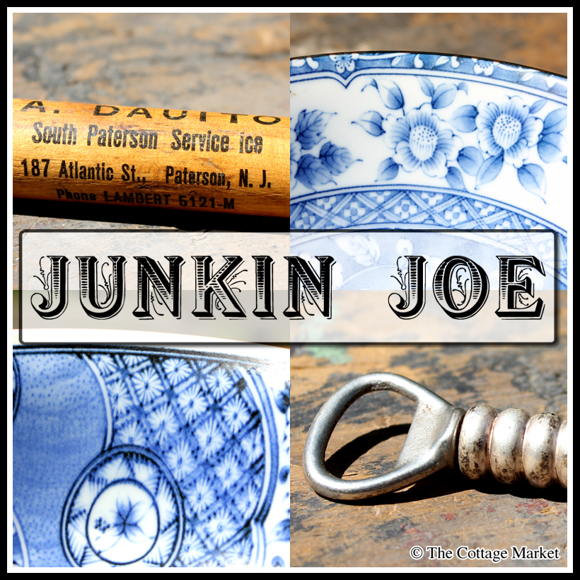 Junkin Joe Vintage and Thrifty Finds, Features and Linky Party…ALL WELCOME!