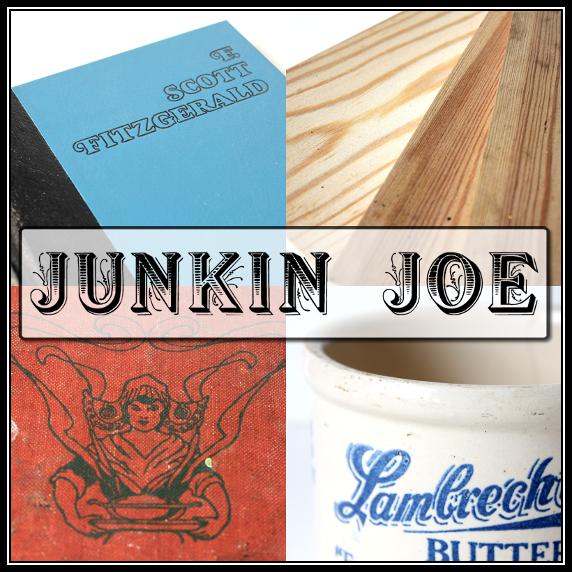 Junkin Joe Vintage and Thrifty Finds, Features and Linky Party…ALL are WELCOME