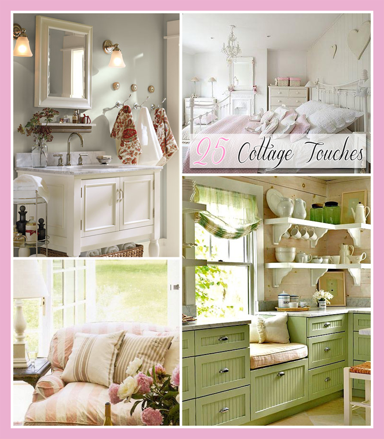 25 cottage touches the cottage market Cottage decorating
