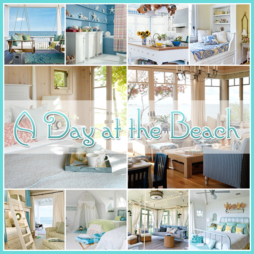 A Day at the Beach for Mom… Beach Cottage tour