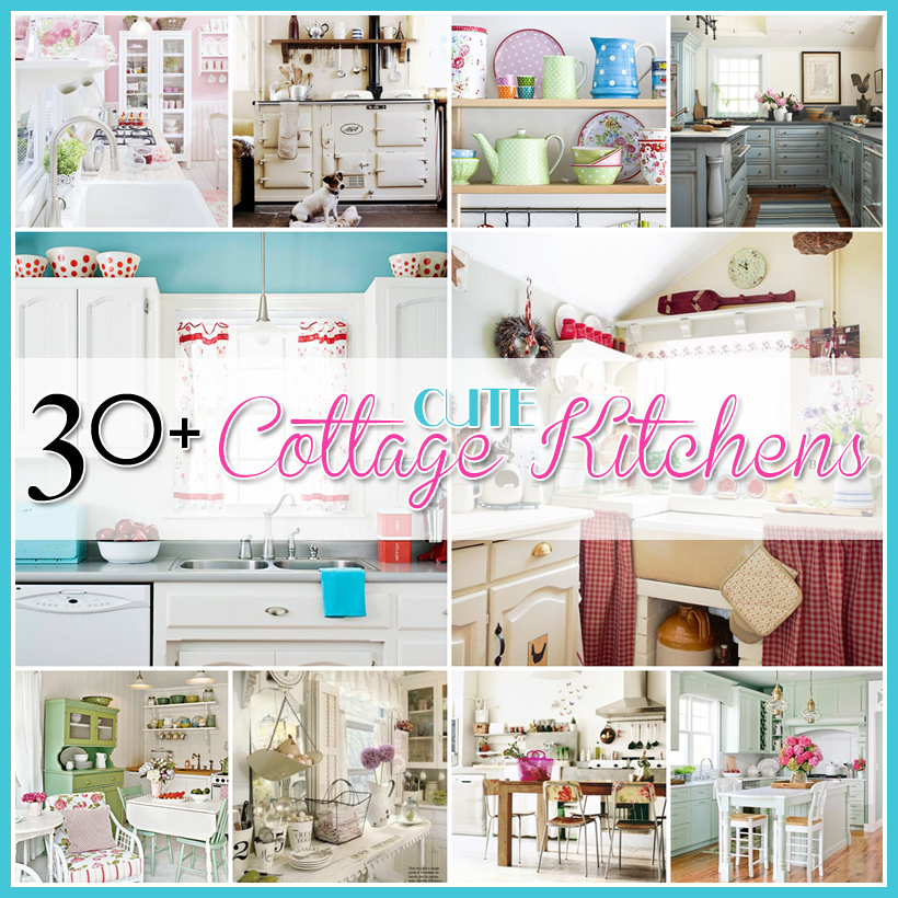 30+ Cottage Kitchens and accessories