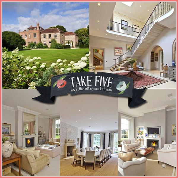 Take 5: A Tour of an English Manor