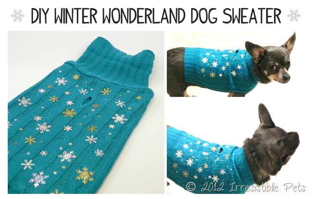 How To Make Dog Clothes Out Of Old Sweaters