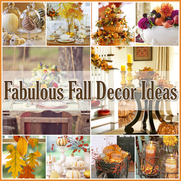 Fresh Fall Home Decorating Ideas Home Tour: 35 Fabulous Fall Decor Ideas