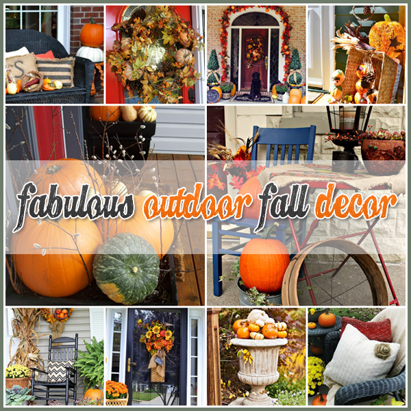 25 outdoor fall decor ideas the cottage market Fall home decorating ideas diy