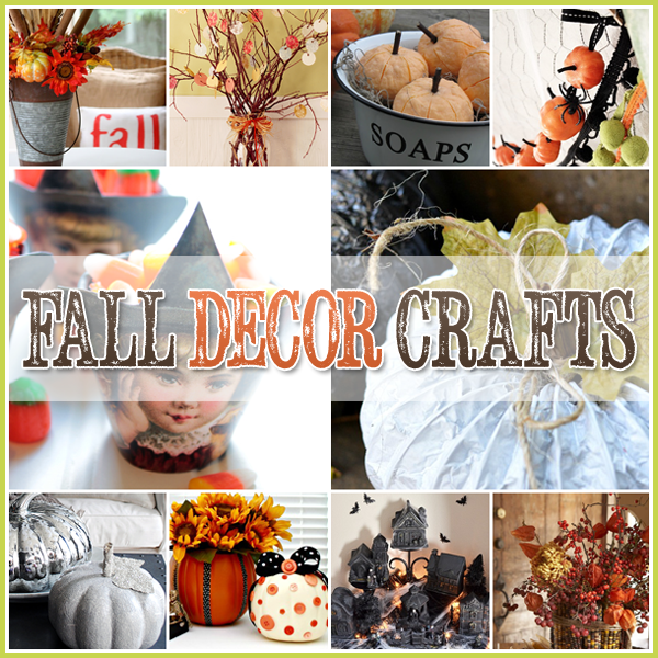 30 fall decor craft projects diy 39 s that are easy and fun Fall home decorating ideas diy