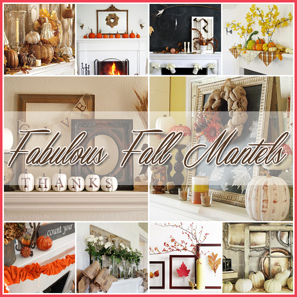 35 Fabulous Fall Mantels