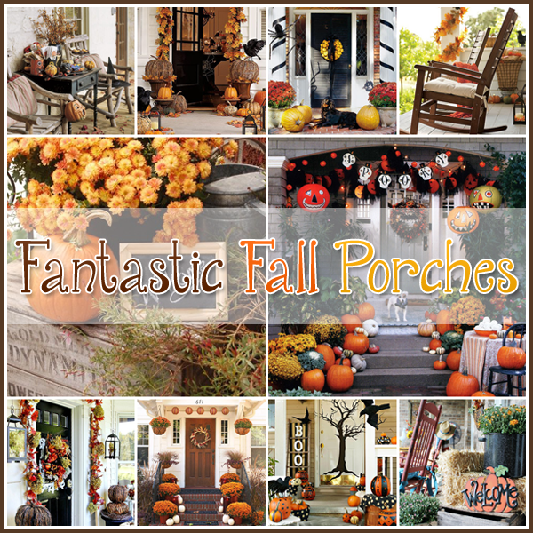 20 Fantastic Fall Porches