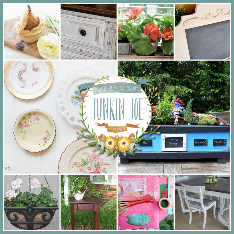 Junkin Joe Features and Linky Party! EVERYONE WELCOME!!!