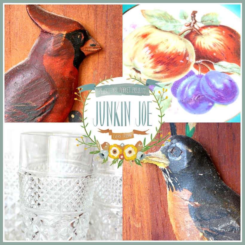 Junkin Joe Vintage & Thrifty Finds…Features and a LINKY PARTY…ALL WELCOME