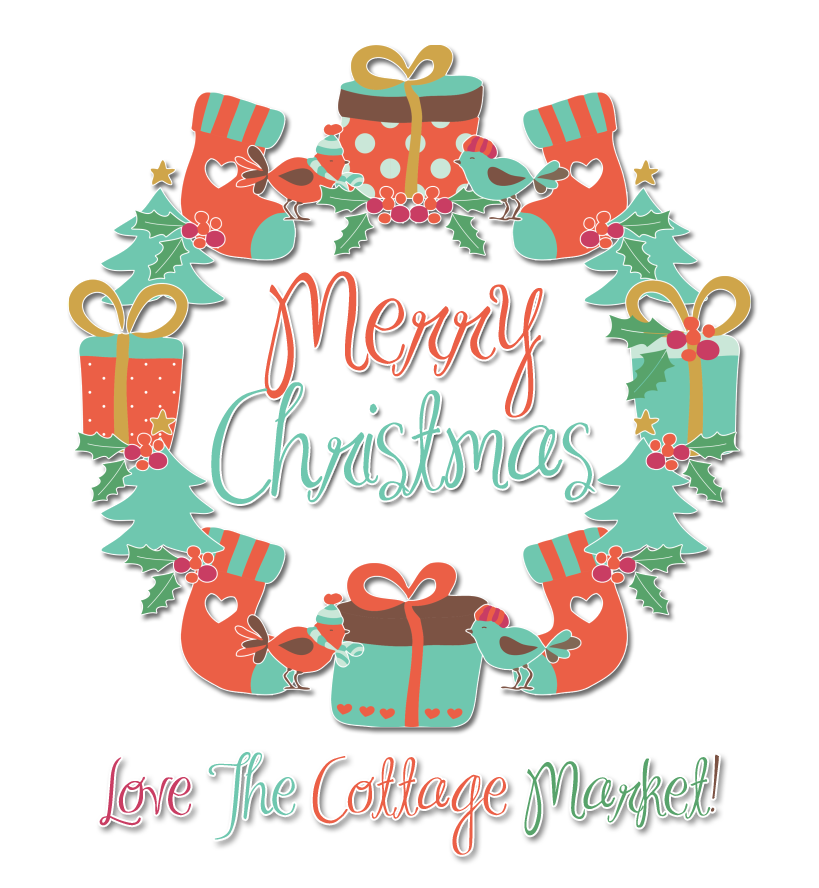 merry christmas the cottage market