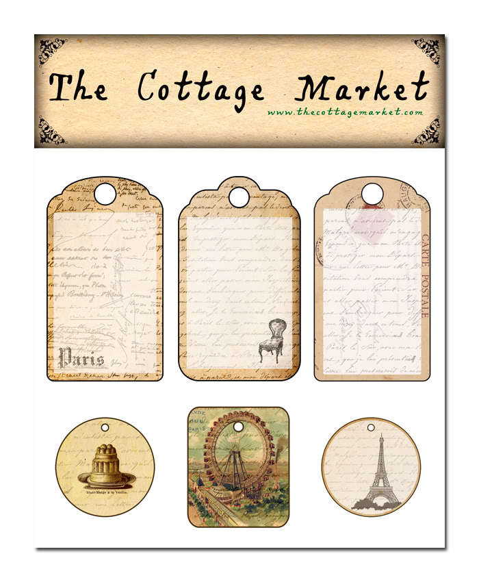 Free French Printable Tags And Some Other Stuff The