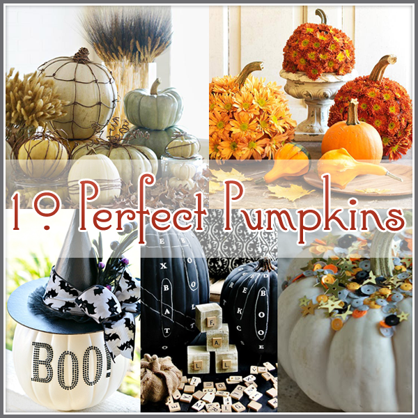 10 more Fabulous Decorating Pumpkin Ideas