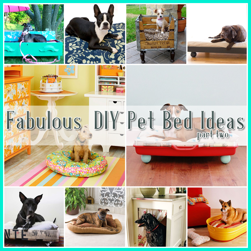 25 Fabulous DIY Pet Bed Ideas …part 2