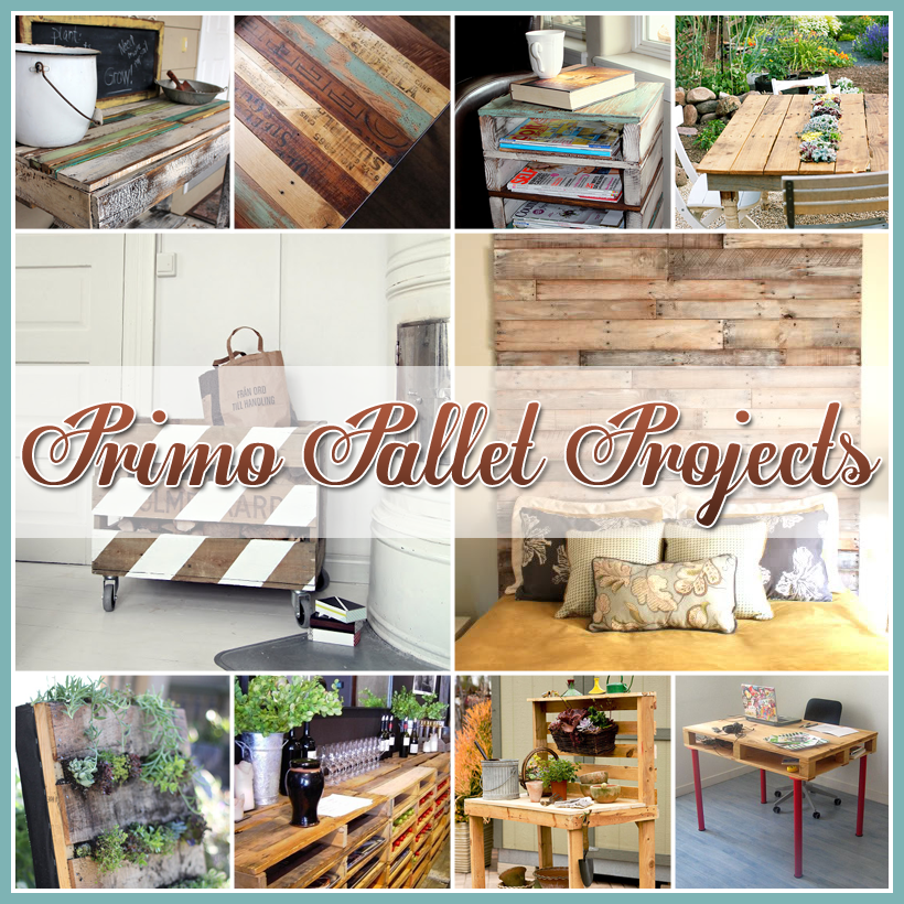 Diy pallet projects the cottage market for Diy crafts with pallets