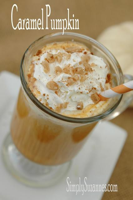 Pumpkin caramel drink title