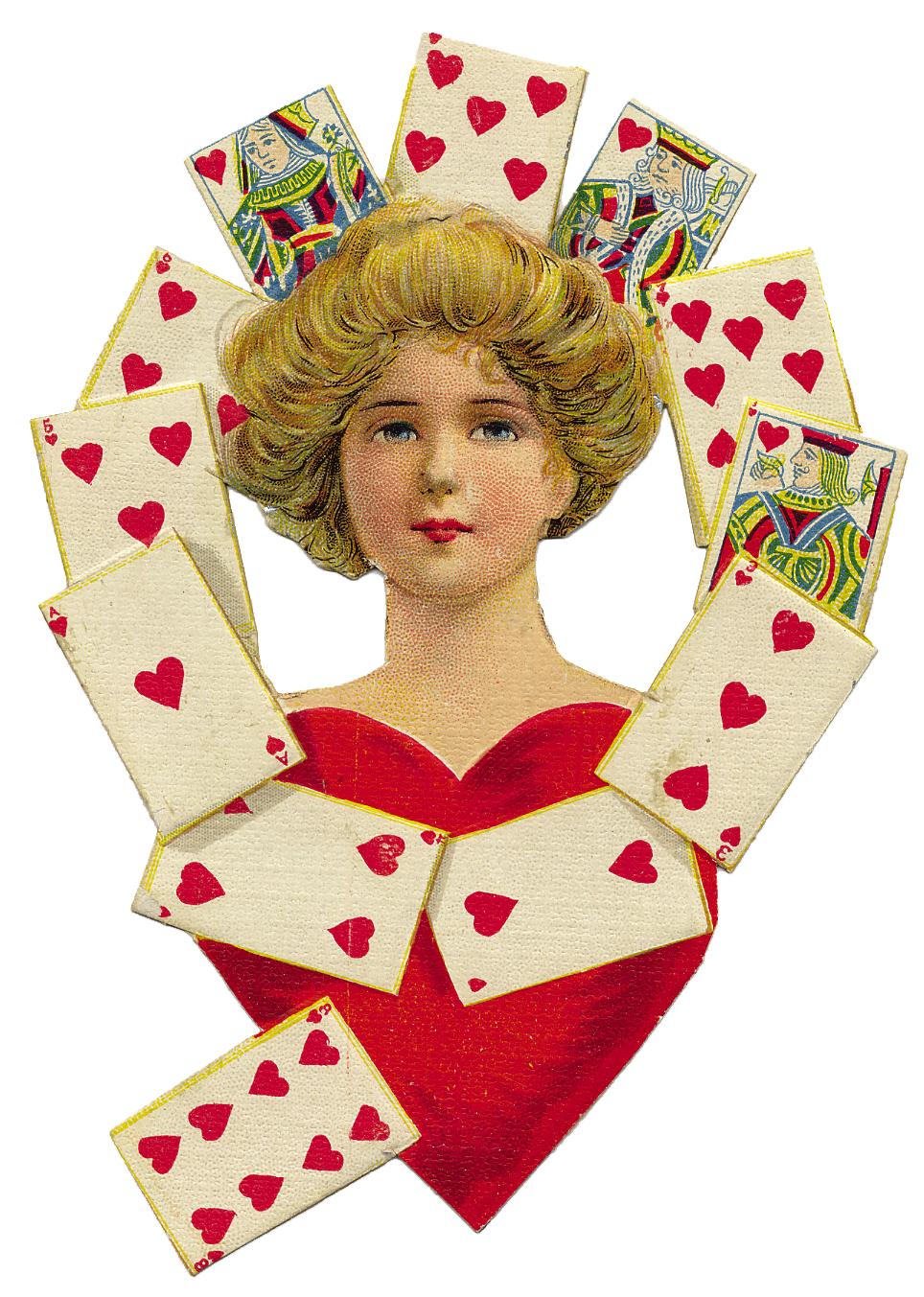 Vintage Queen Of Hearts 25