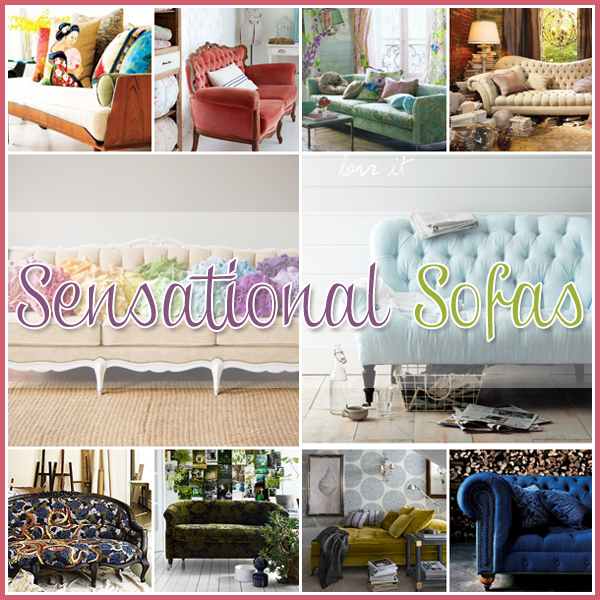 35 Sensational Sofa's You might love as much as your spouse!