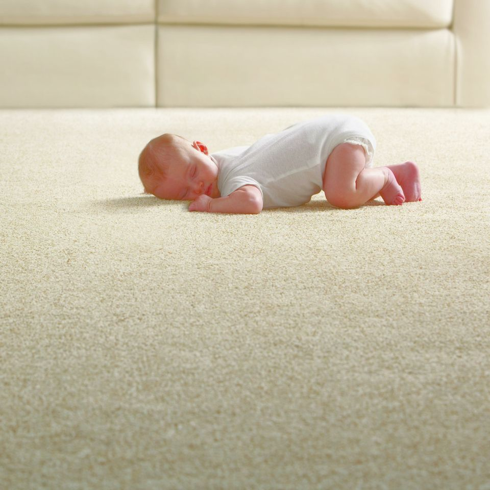 Nursery inspirations with softspring carpet from home for Best carpet for baby nursery