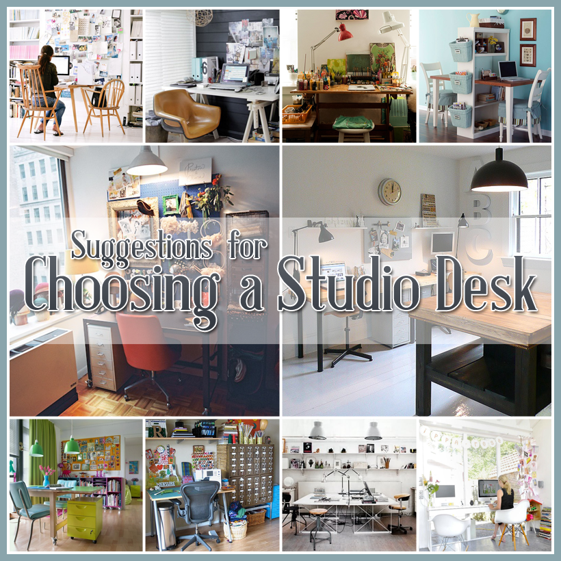 Choosing a Studio Desk and what to look for