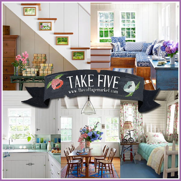 Take Five: Cottage Style on Martha's Vineyard