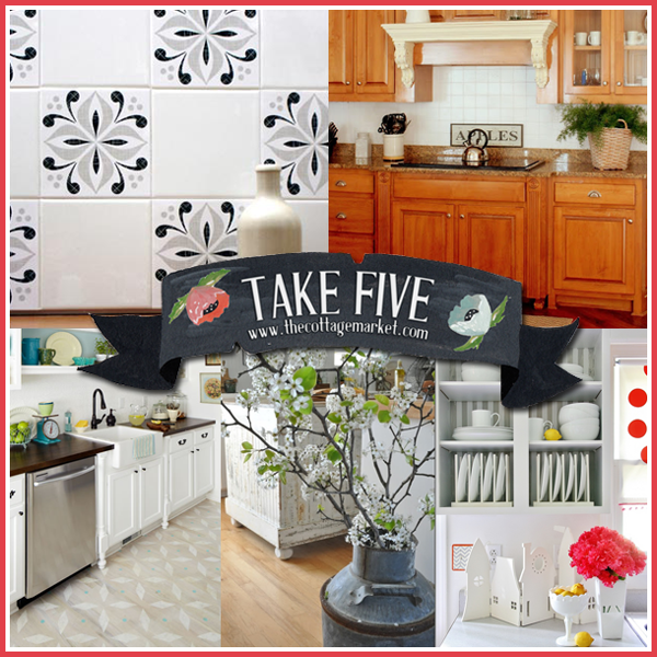 Take Five: Updating your kitchen Inspiration