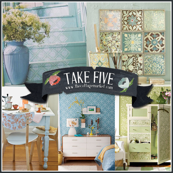 Do It Yourself Home Decorating Ideas: Take Five: Weekend DIY Projects